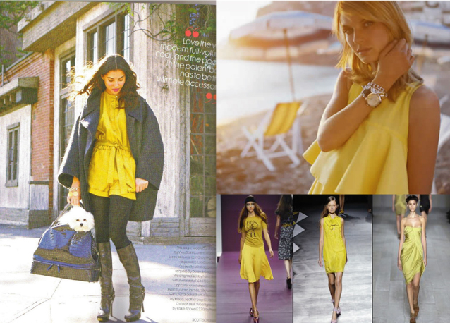 Comment porter ta robe jaune en hiver play like a girl for Que porter avec du gris