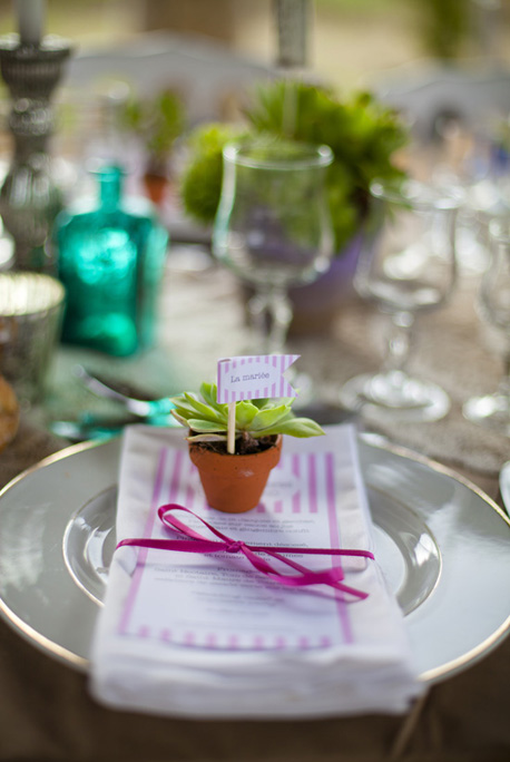Wedding post diy fanions marques places r tro play like a girl - Marque place mariage diy ...