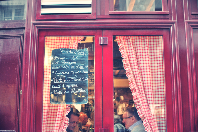 robert et louise paris restaurant marais
