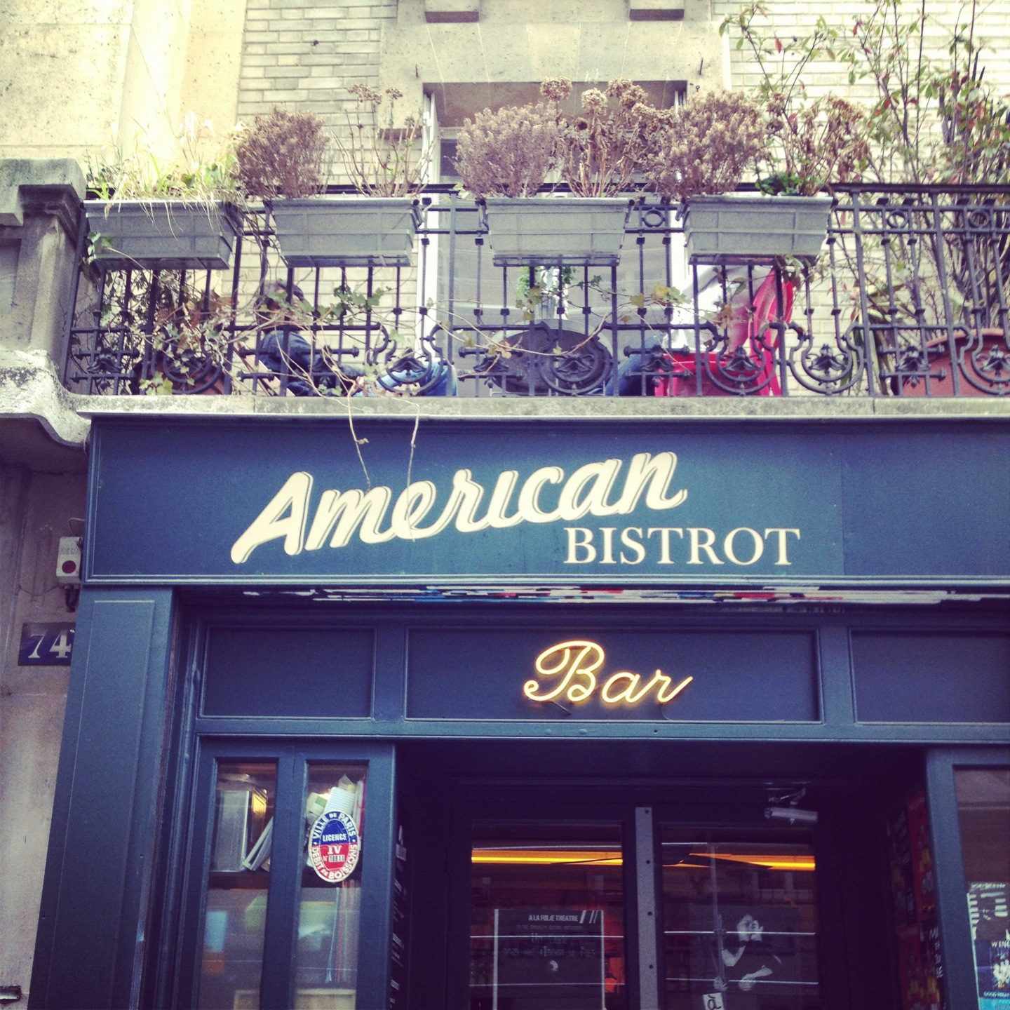 american bistrot bonne adresse hamburger paris