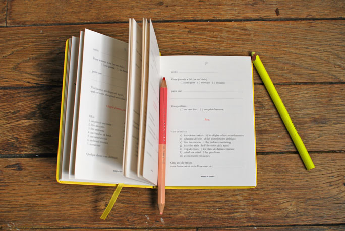 keel's simple diary carnet journal intime