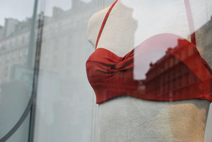 oysho shop paris boutique vitrines parisiennes