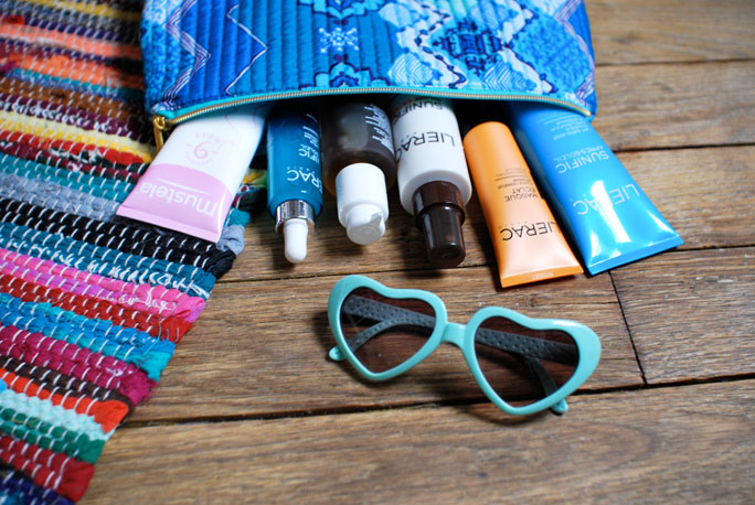 beauty trousse vacances lierac produits 