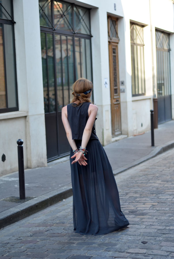 ootd look blog paris