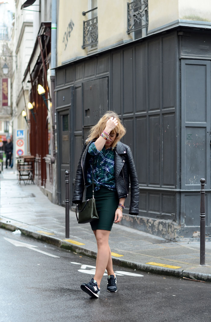New Balance by Comptoir des Cotonniers Perfecto : Zara. ootd look fashionblogger paris