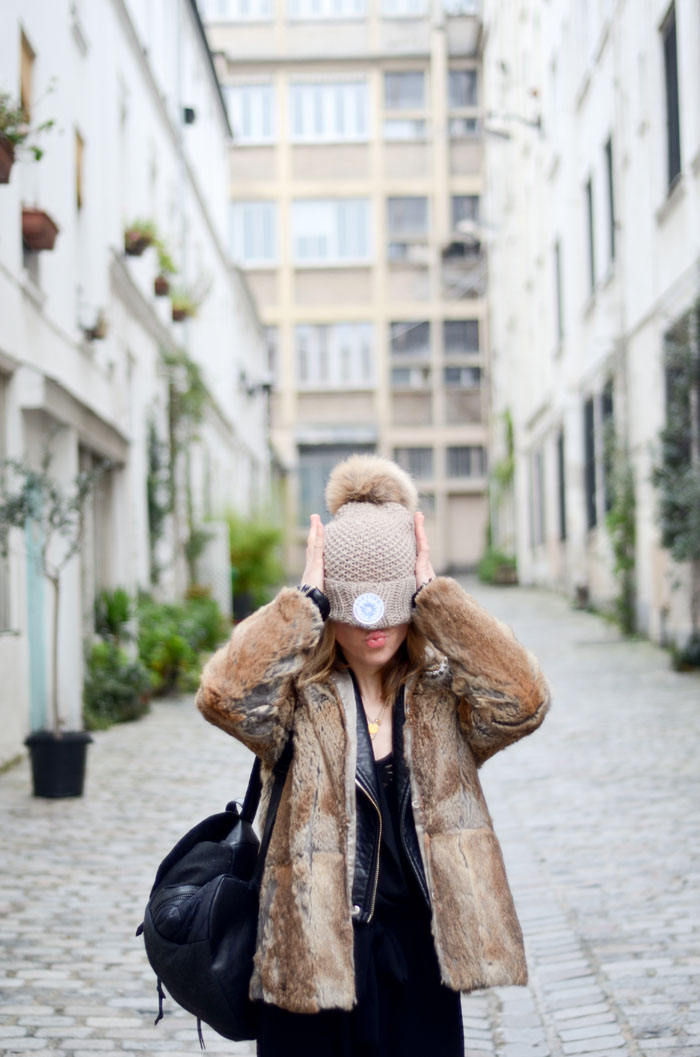 ootd look concours winter paris fashionblogger