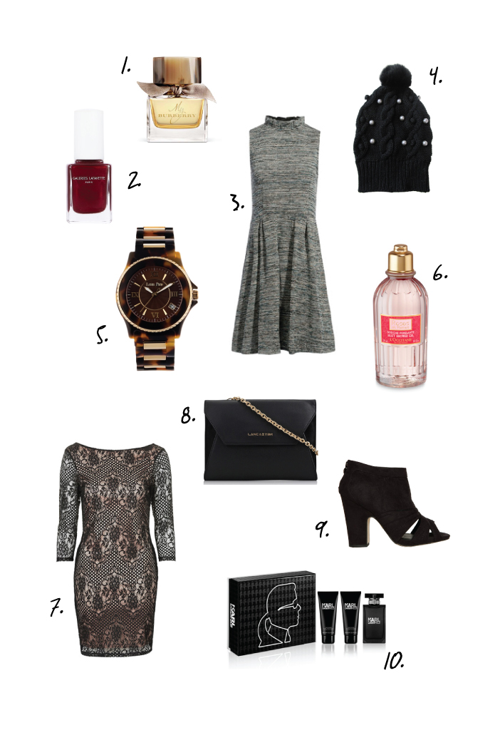 WISHGAL galeries lafayette wishlist christmas paris noel