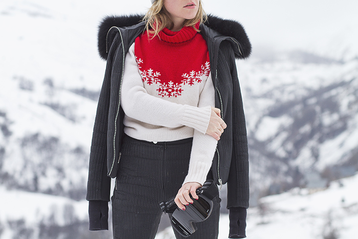 look fashionblogger ski snow